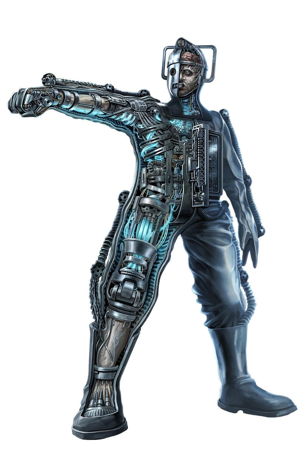Анатомия киберчеловека.