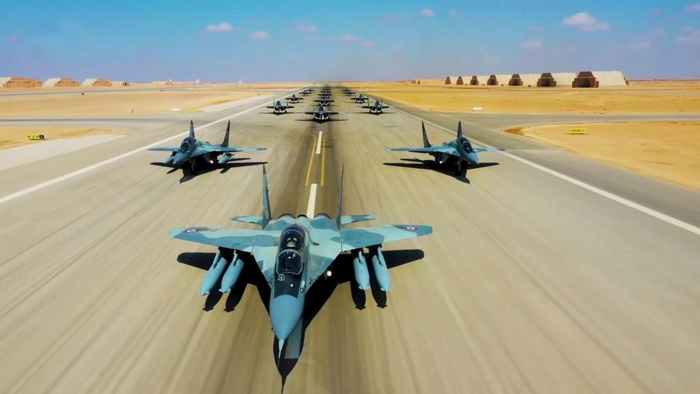 МиГ-29М-М2 ВВС Египта.