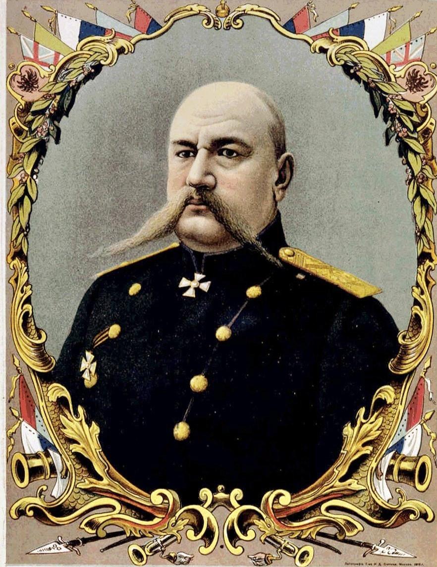Портрет Н.Н.Юденича.