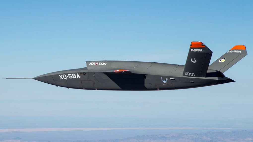 Прототип БЛА XQ-58A Valkyrie американской компании Kratos.