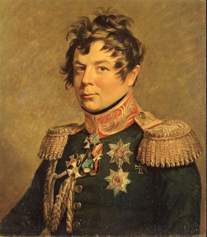 Портрет Ивана Ивановича Дибича-Забалканского работы Джорджа Доу.