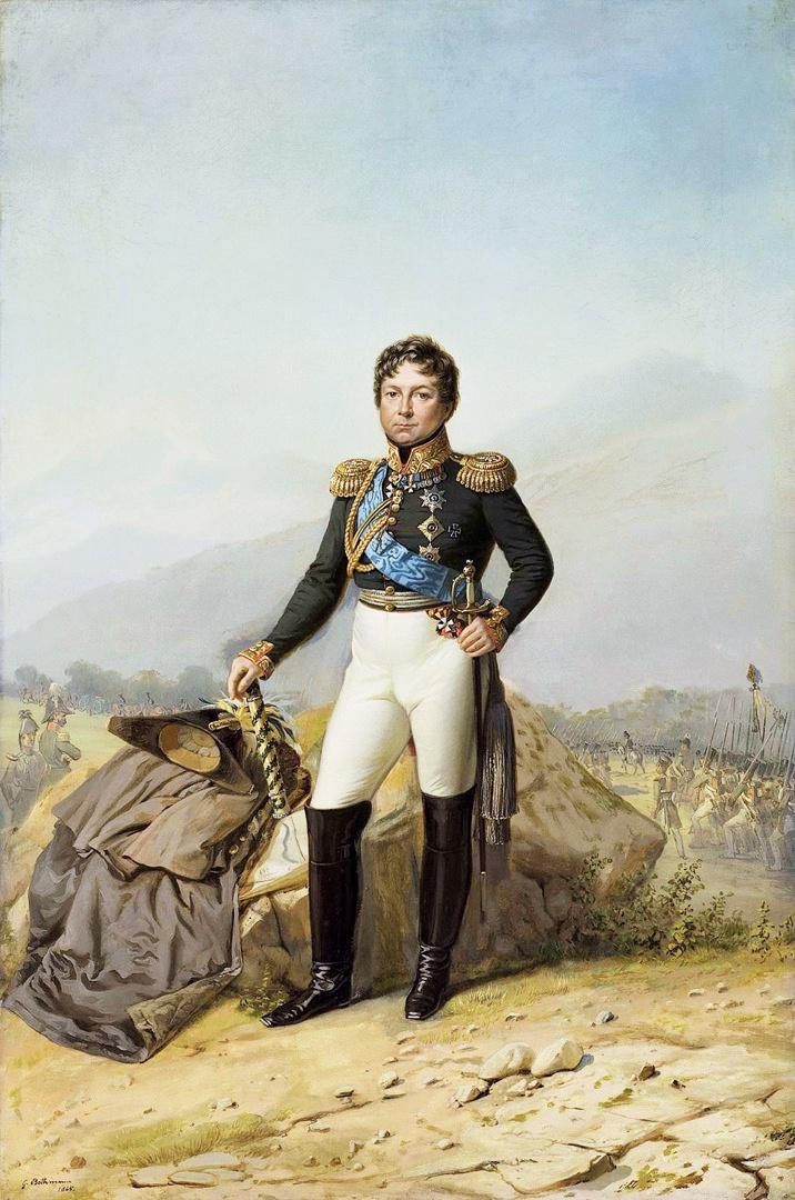 Портрет фельдмаршала графа И.И. Дибича. Худ. Е.И. Ботман. 1865 год.