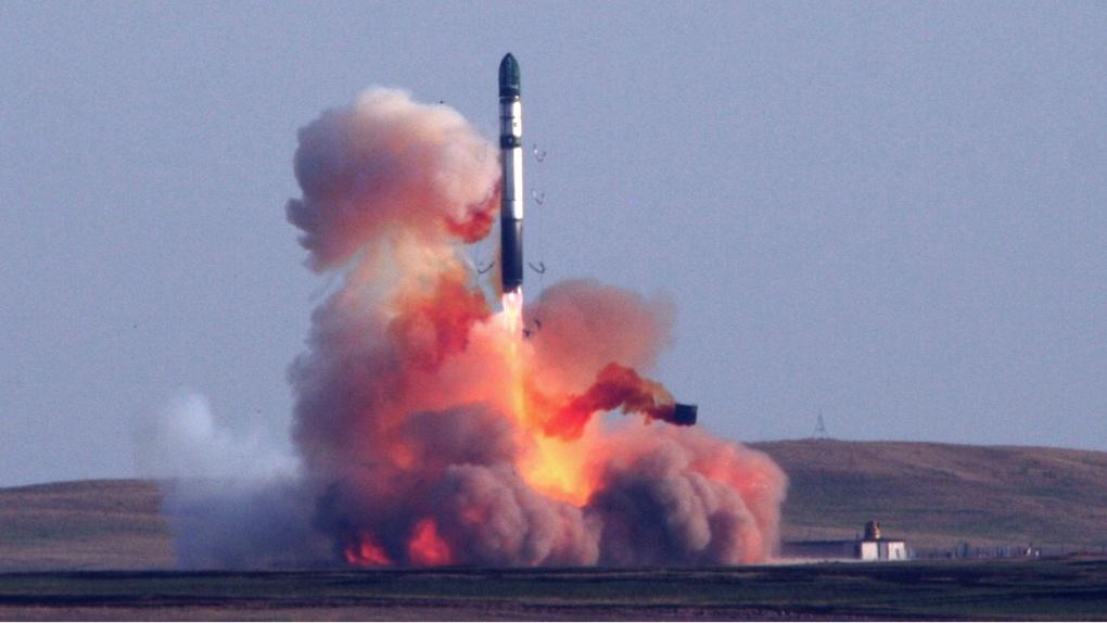 Ракета РС-20Б.