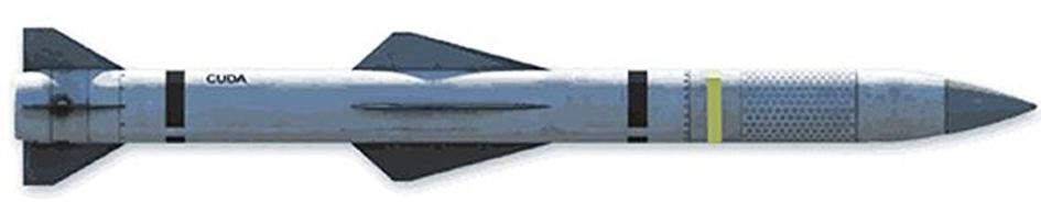 Предполагаемый внешний вид ракеты Cuda.