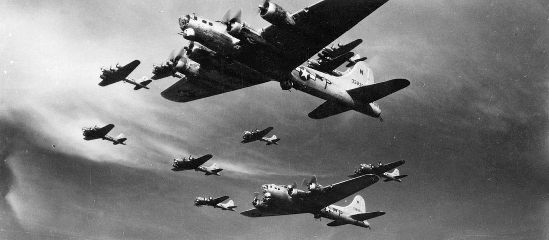 Стратегические бомбардировки Второй мировой