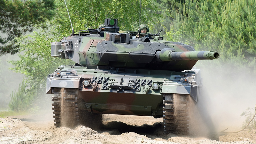 Леопард-2А7.