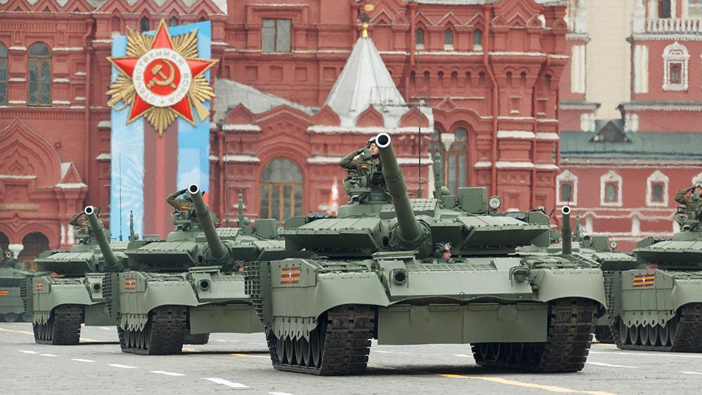Танк Т-90М «Прорыв».