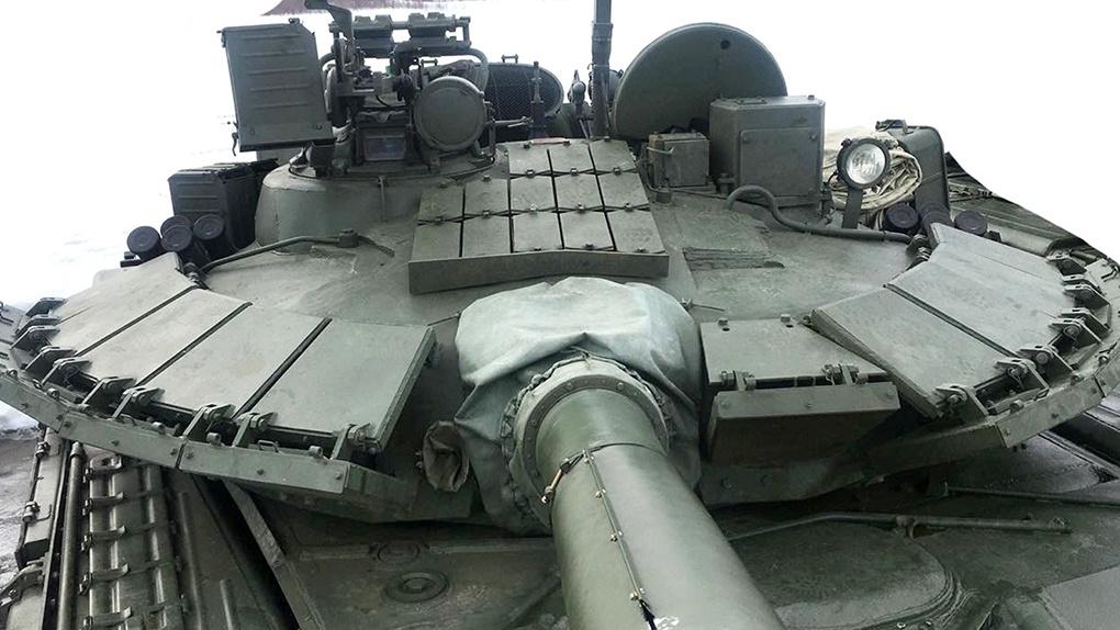 Башня танка Т-80БВМ.