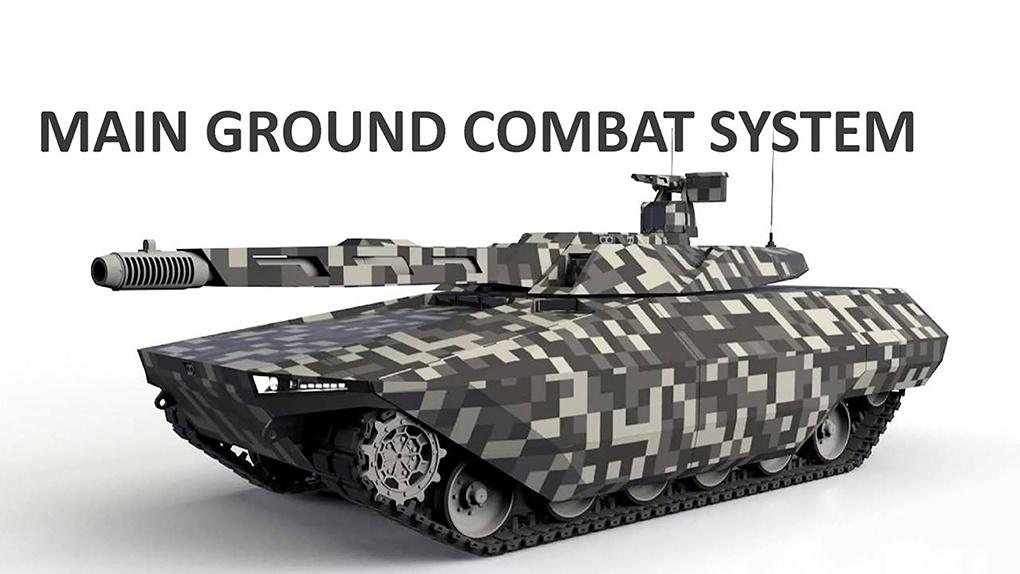 Концепция перспективного европейского танка от компании «Рейнметалл.