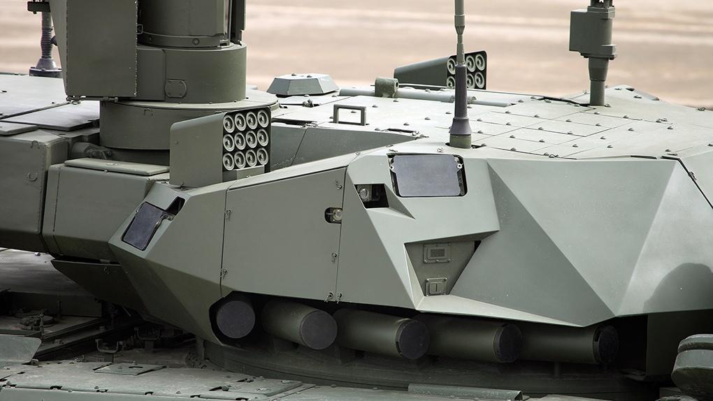 Башня танка Т-14 в Алабино 22.04.2016.