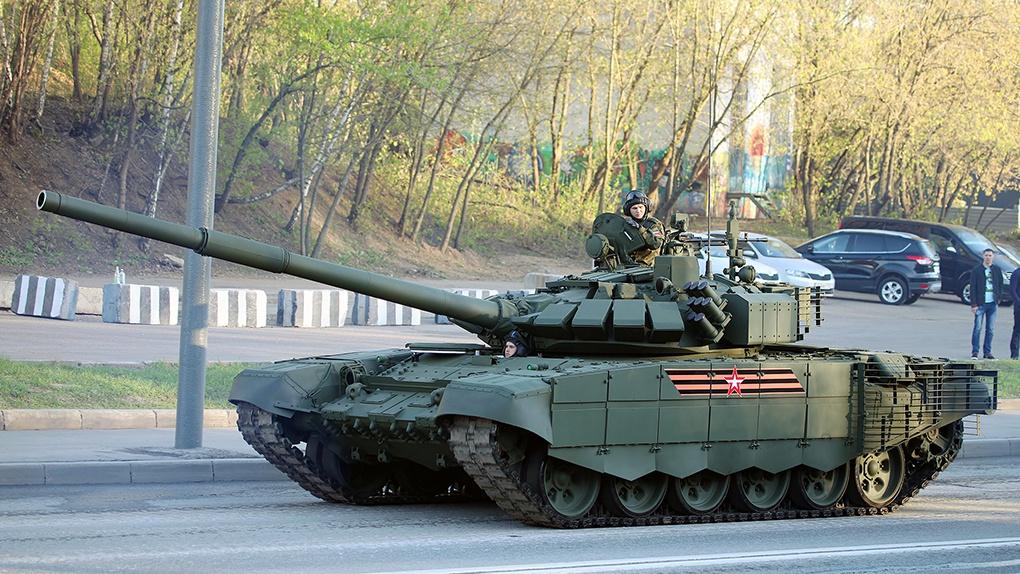 Танк Т-72Б3 образца 2016.