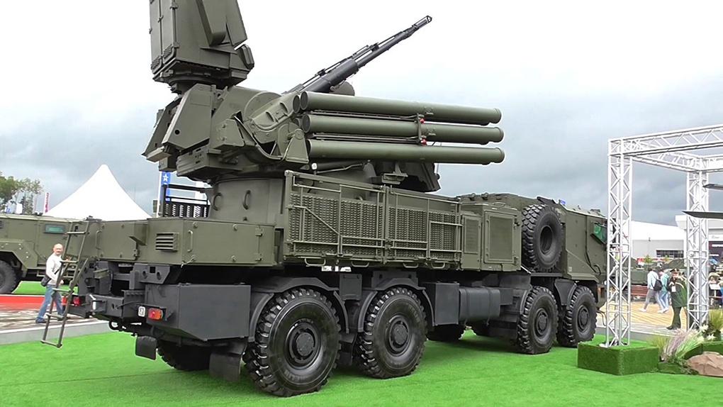 «Панцирь» на Международном военно-техническом форуме «Армия».