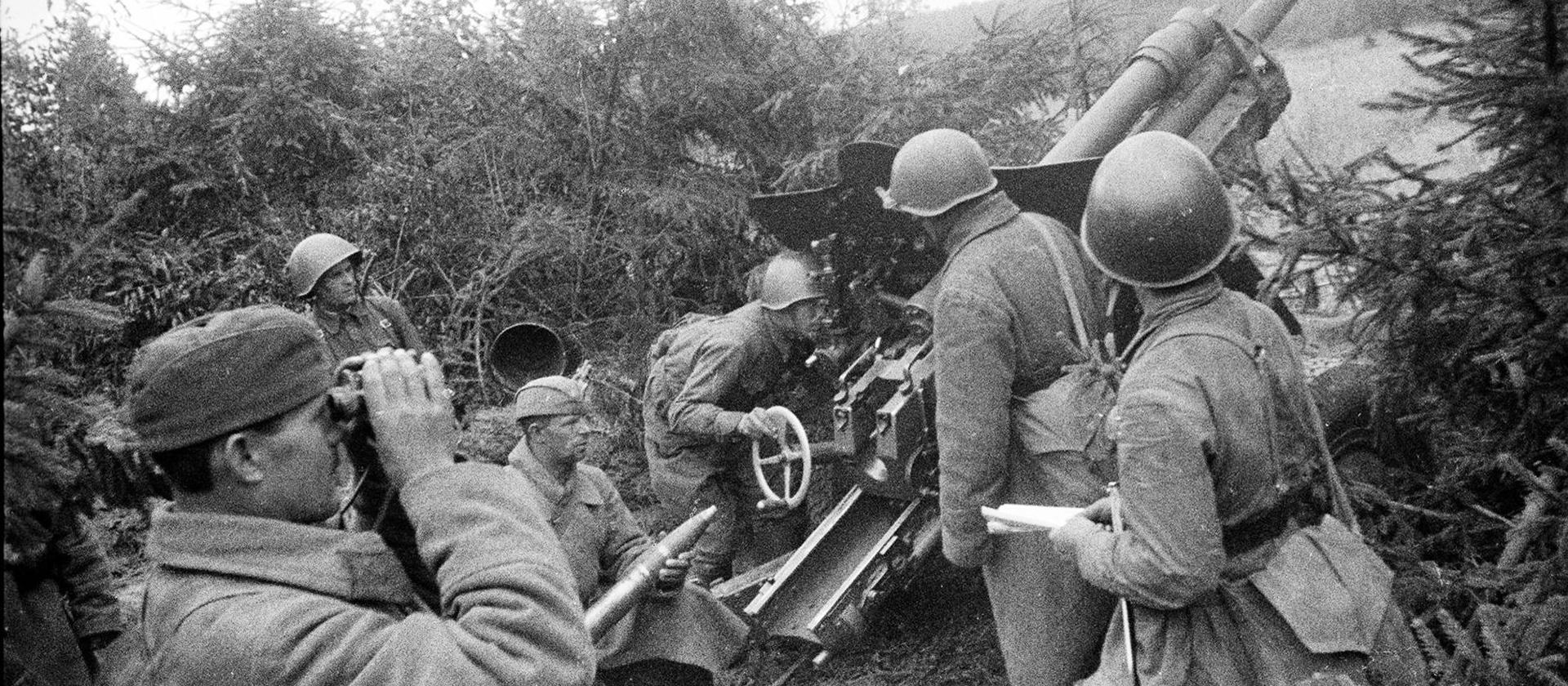 Три «Славы» полкового артиллериста