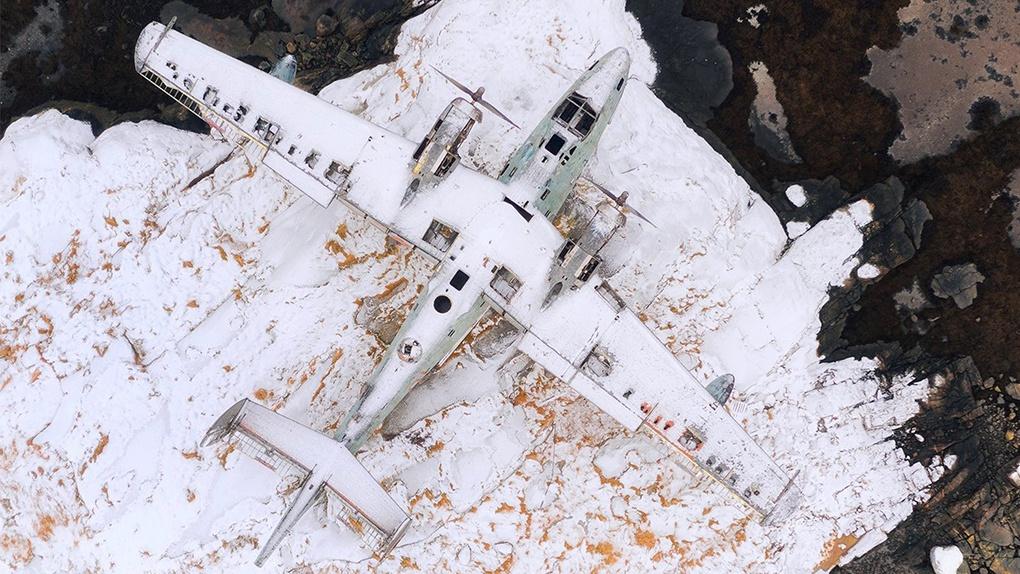 Летающая лодка Бе-6. Поселок Сафоново, Мурманская область.