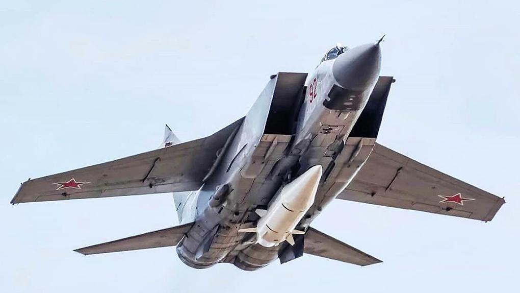 МиГ-31 с Кинжалом.