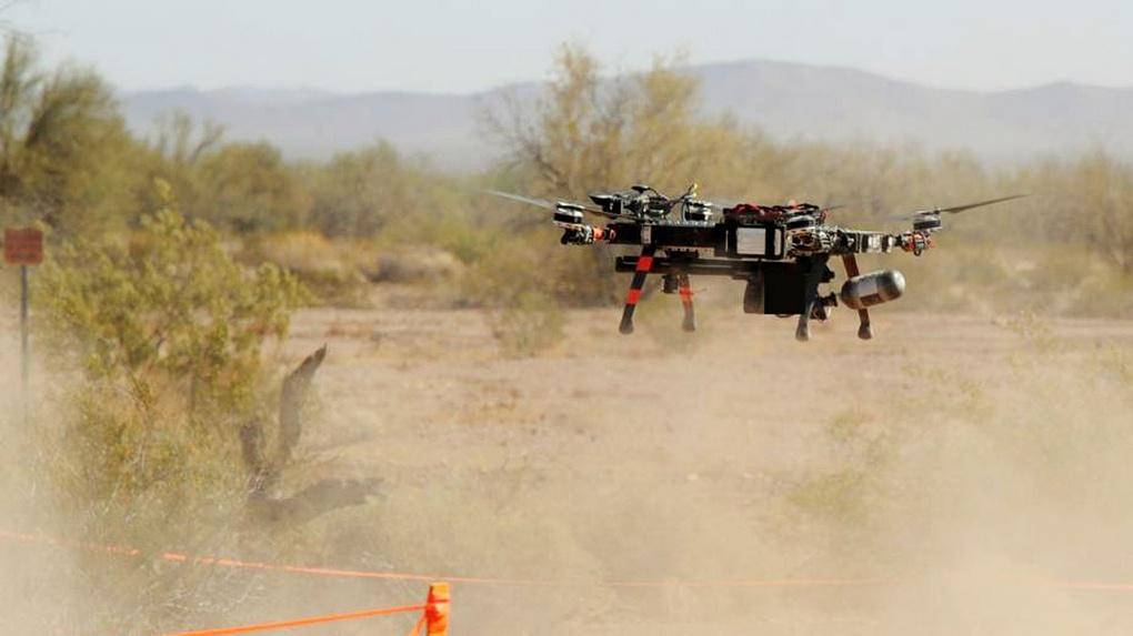 БЛА системы борьбы с дронами MIDAS.