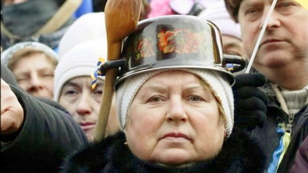 Новые «герои» Украины.