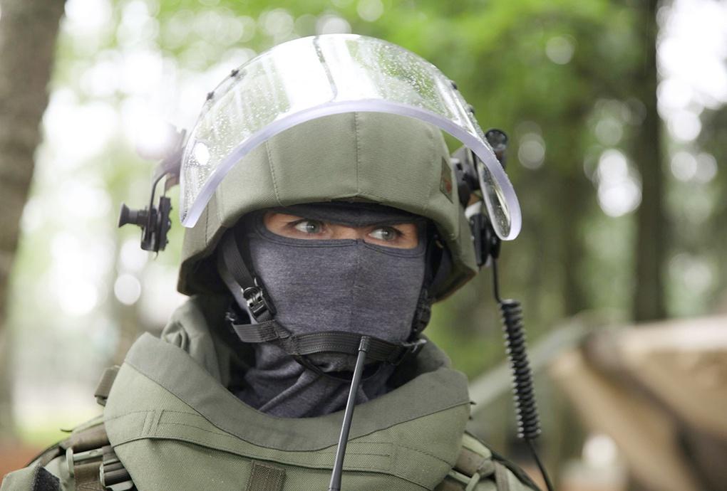Защитный шлем ЛШЗ-2ДТМ.
