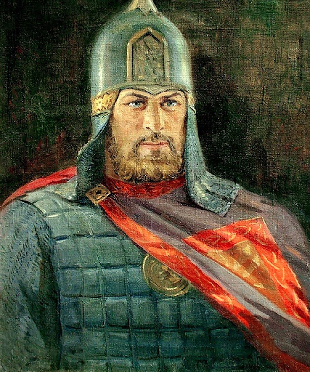 Александр Ярославич Невский.