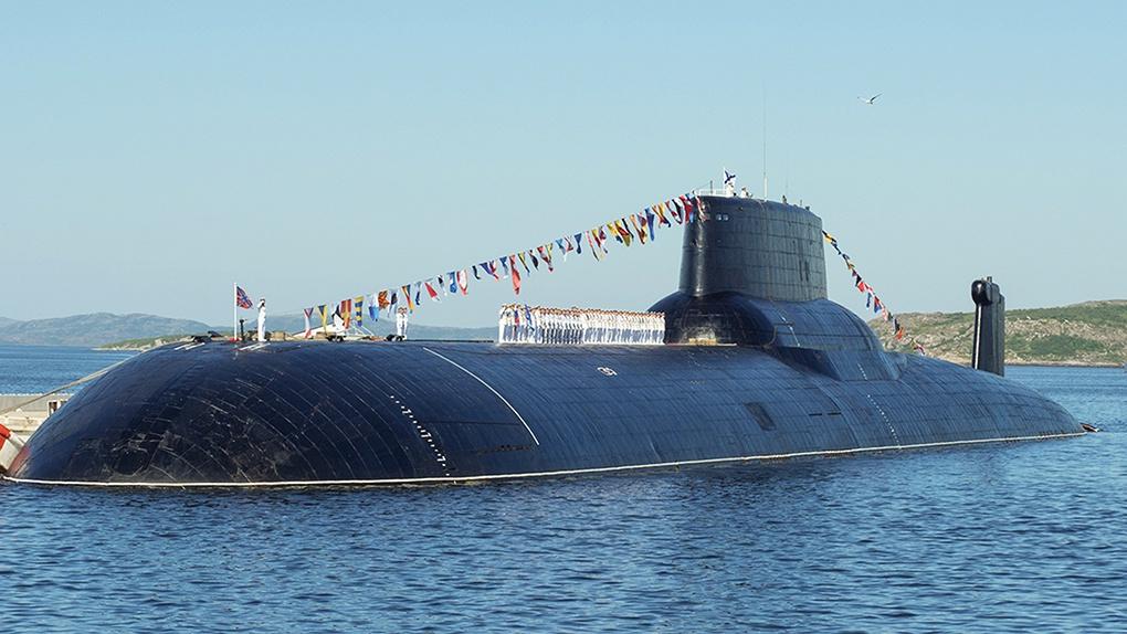 Атомная подводная лодка стратегического назначения типа «Акула».