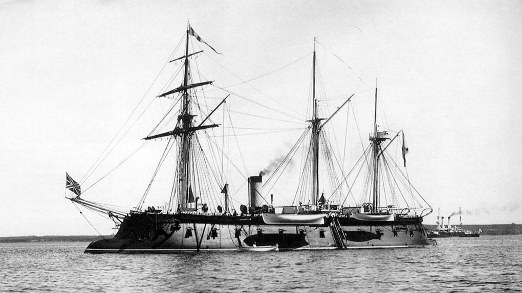 «Первенец» — один из первых русских броненосных кораблей.