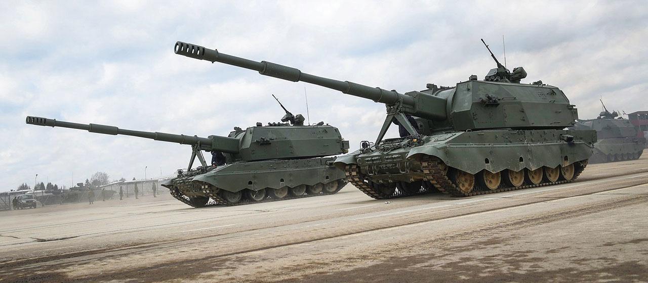 B России создаётся роботизированный вариант САУ 2С35 «Коалиция».
