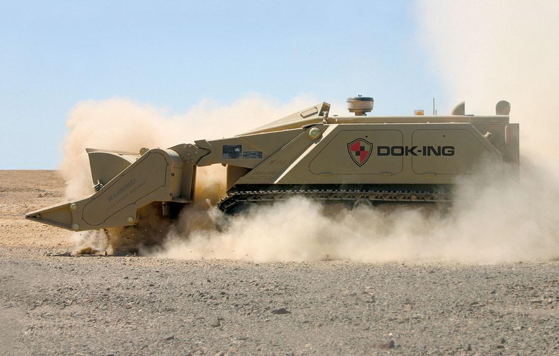 Особенно удачной оказалась противоминная машина MV-4, созданная в Хорватии.