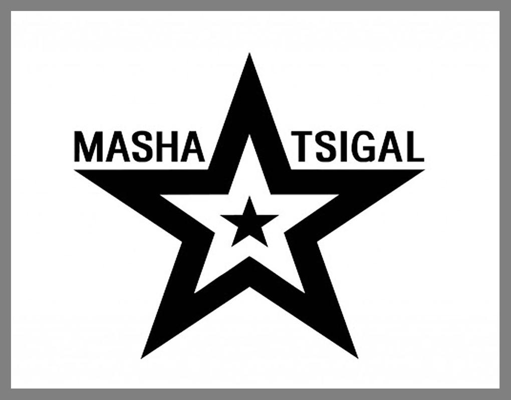 Логотип бренда Masha Tsigal.