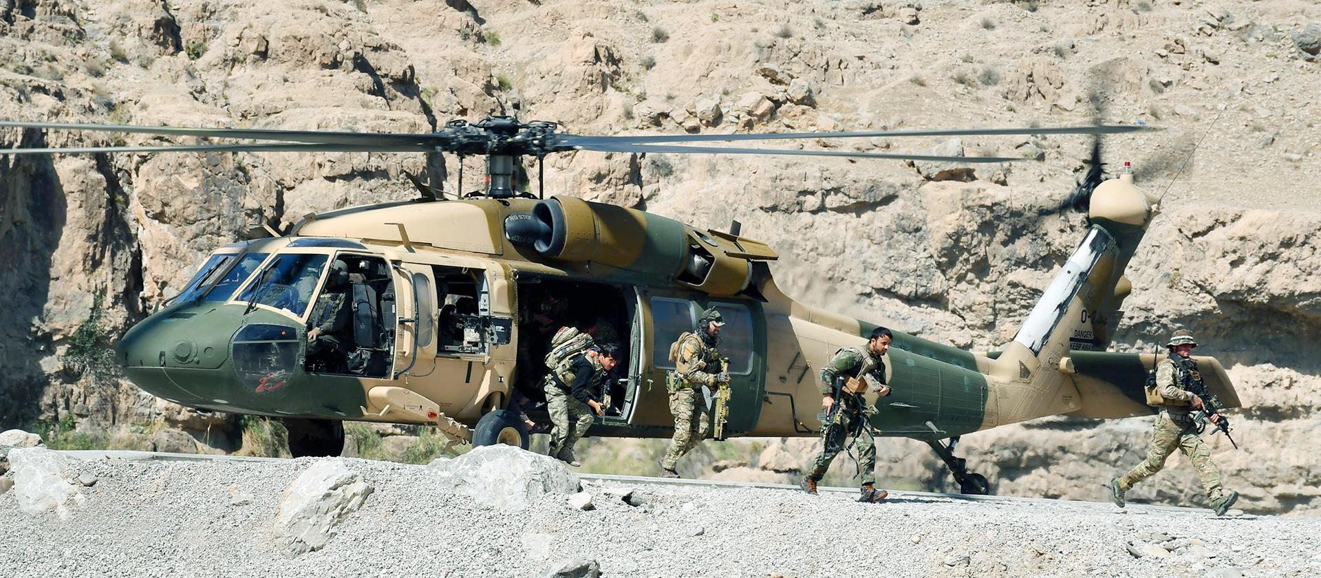 В небесах Афганистана