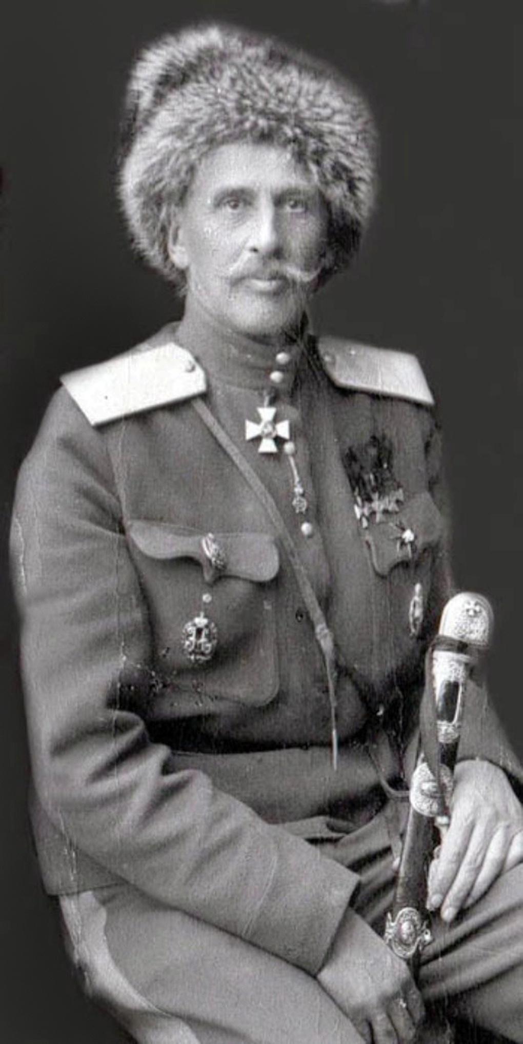 Генерал-лейтенант Ф.А.Келлер.