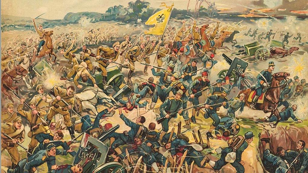 Разгром австро-германский войск под Ярославом.