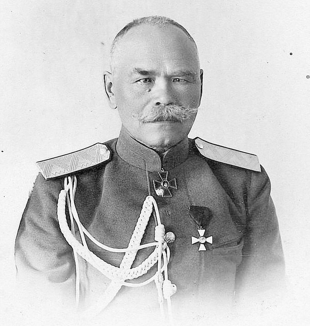 Начальник штаба Юго-Западного фронта генерал М.В.Алексеев.