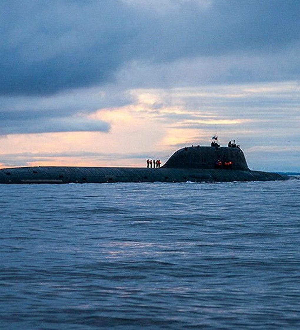 АПЛ «Северодвинск» в море.