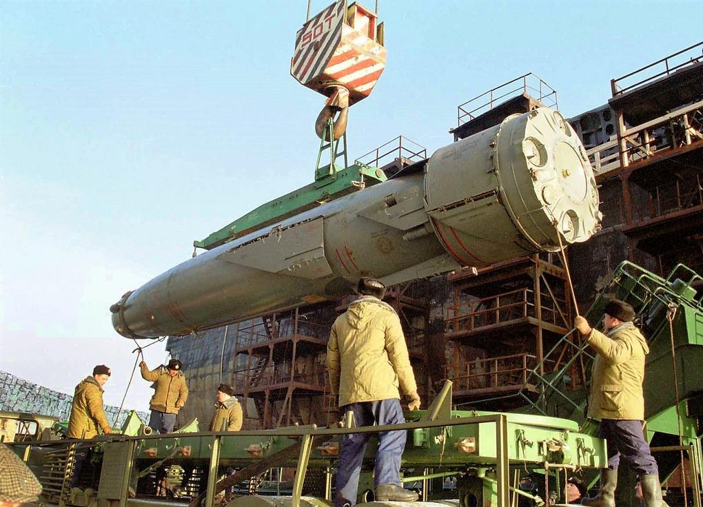 Крылатая ракета «Гранит».