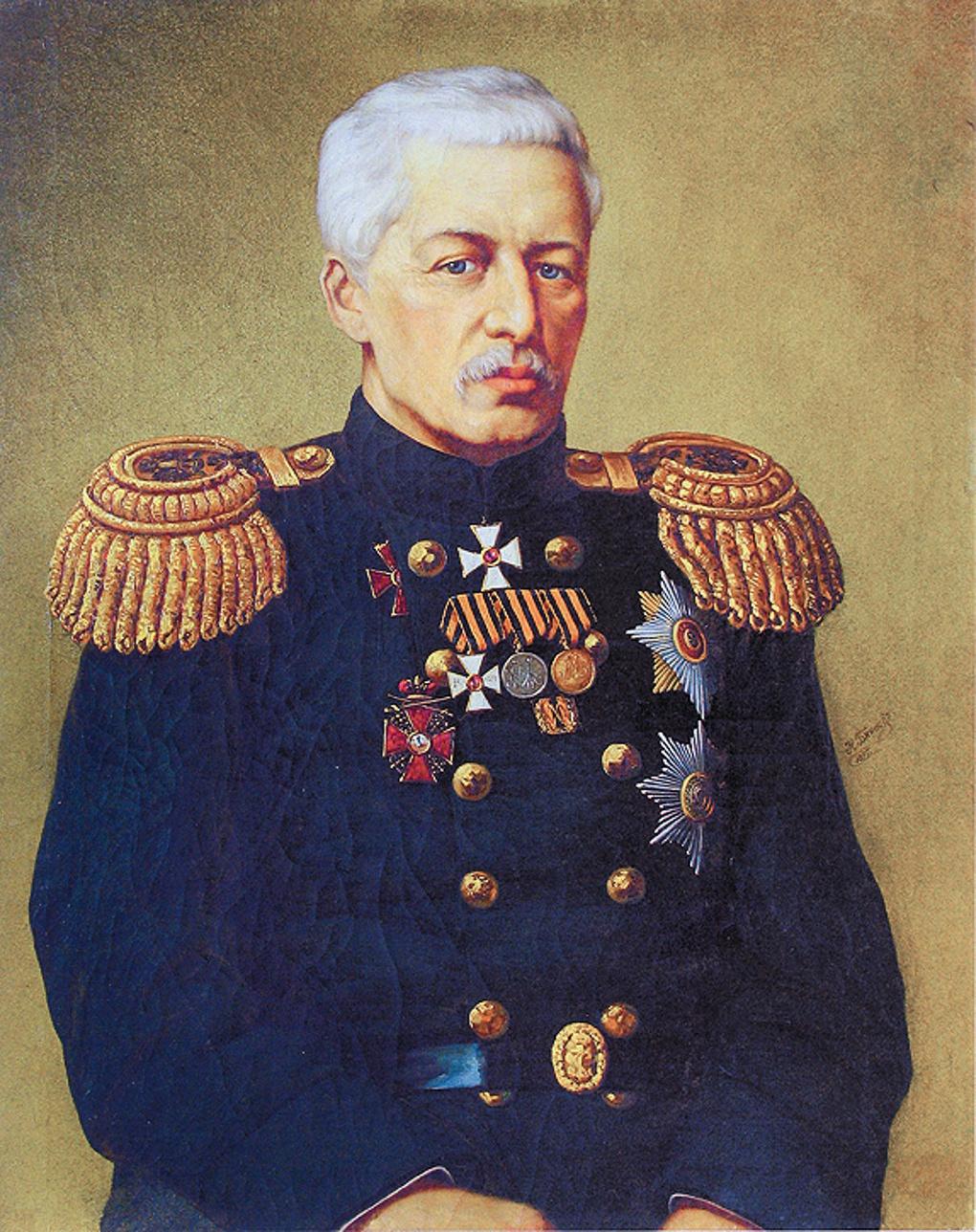 Василий Степанович Завойко.