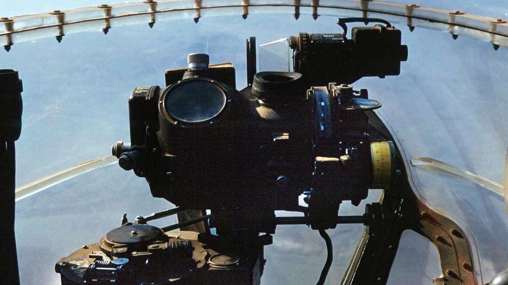 Американский бомбардировочный прицел Норден.