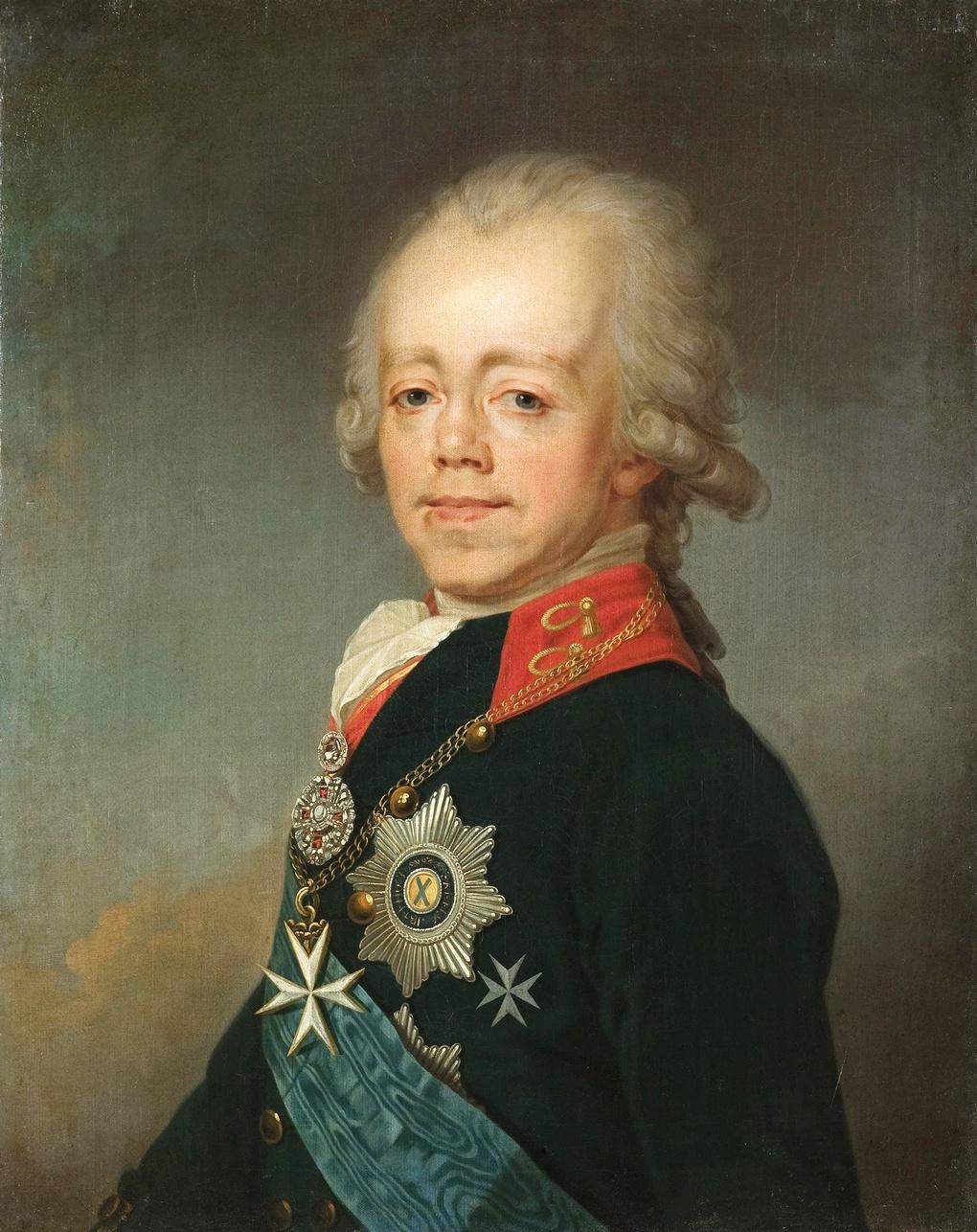 Император Павел. Портрет Андрея Митрохина.