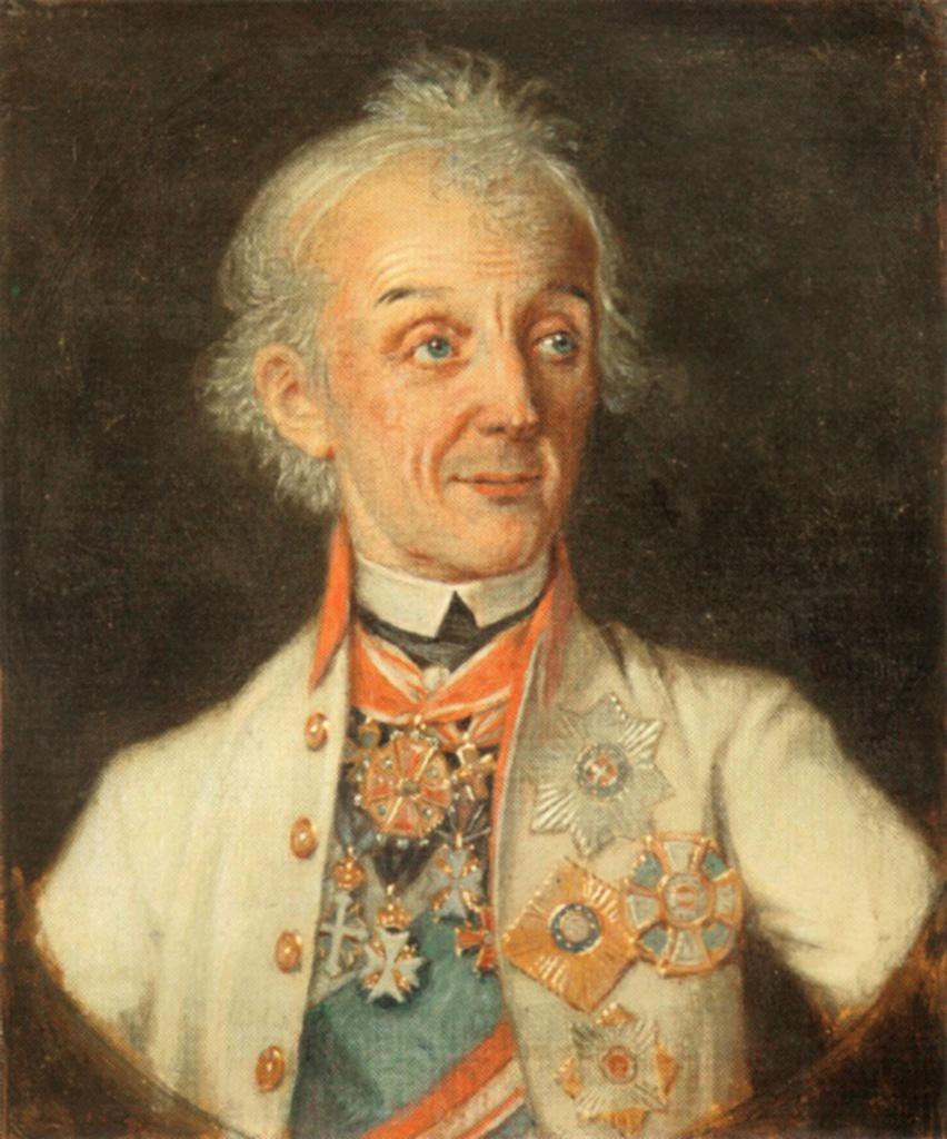 Александр Васильевич Суворов. Портрет Н.А. Шабунина.