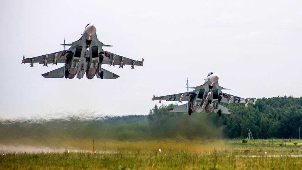 Су-30СМ.