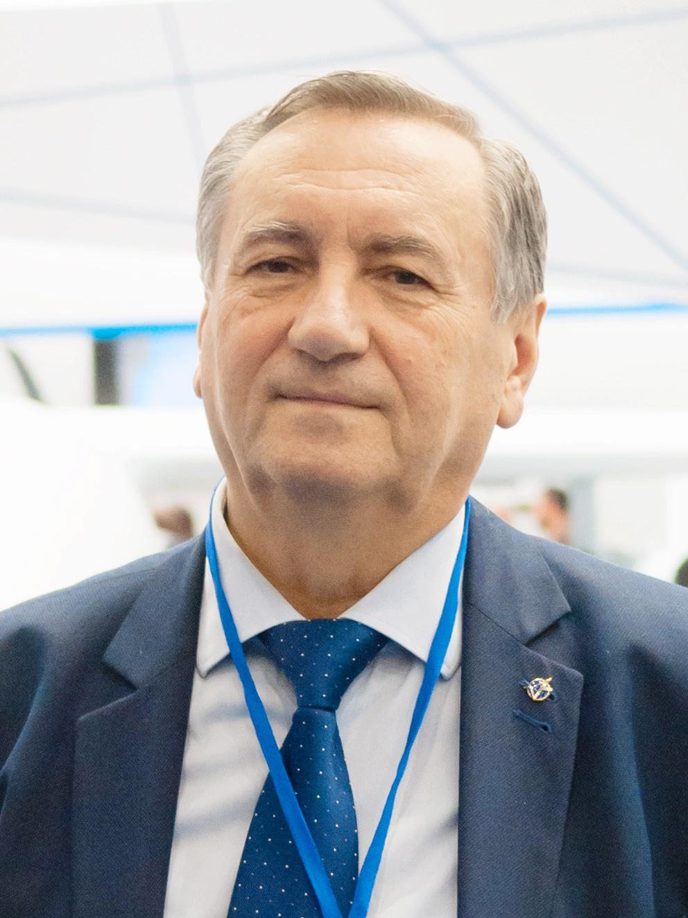 Генеральный конструктор КБ «Луч» Олег Петрович Коростелёв.