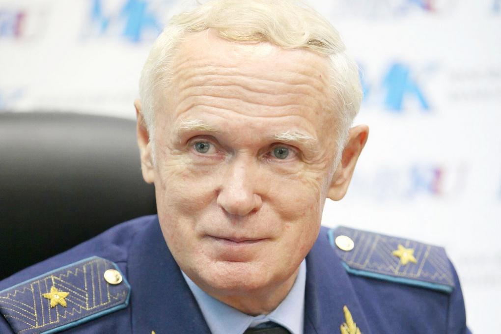 Генерал-майор ВВС Владимир Попов.