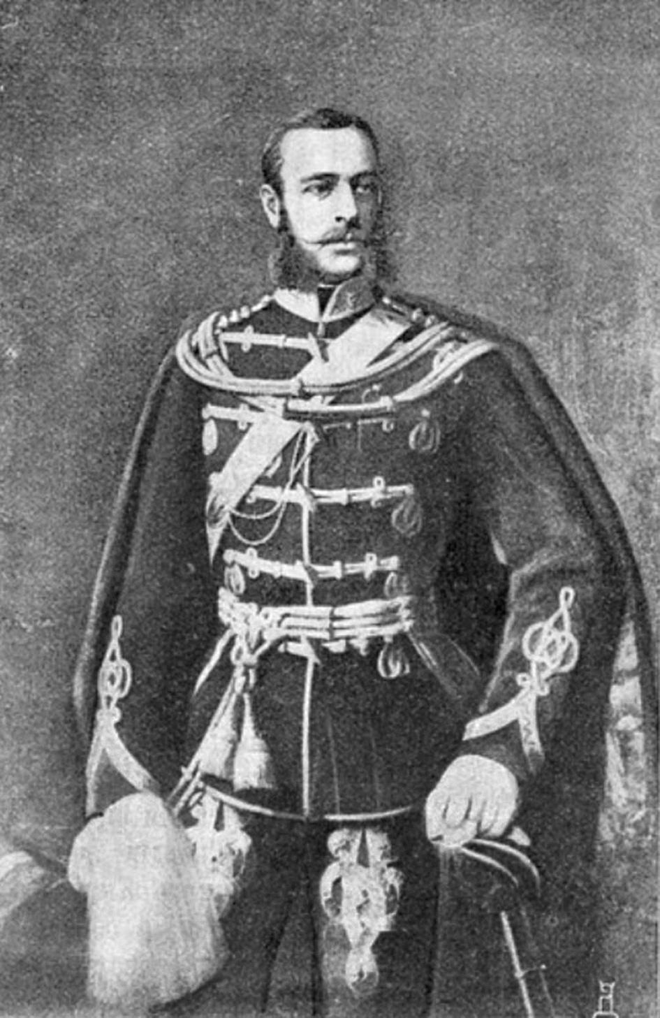 Поручик М.Д.Скобелев.