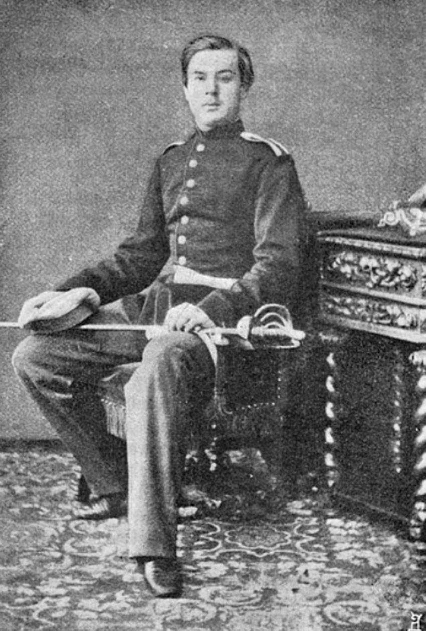 Юнкер М.Д.Скобелев.