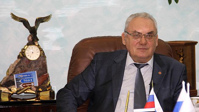 Генеральный директор Туламашзавода Евгений Анатольевич Дронов