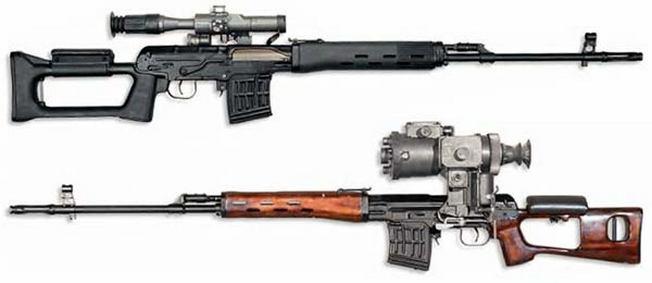 Cамозарядная винтовка Драгунова (СВД)