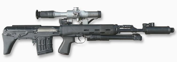 Автоматическая винтовка СВУ-АС
