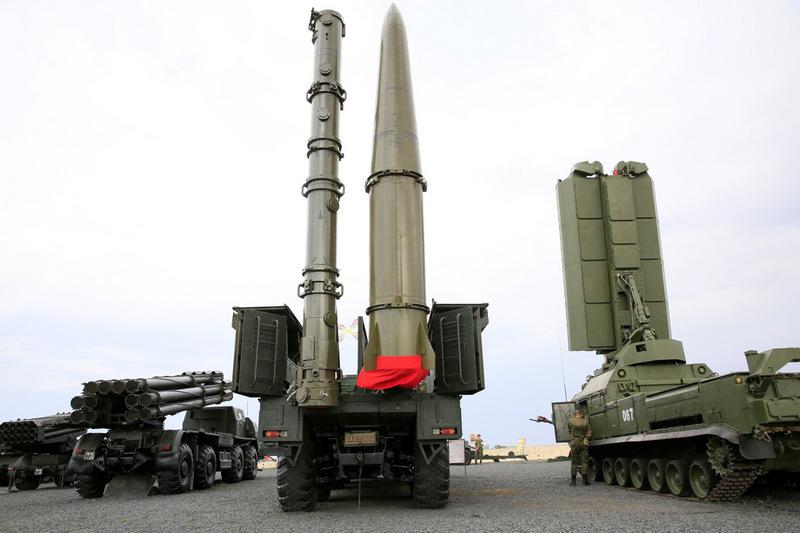 На вооружении войск ЮВО находятся самые современные средства ведения вооруженной борьбы