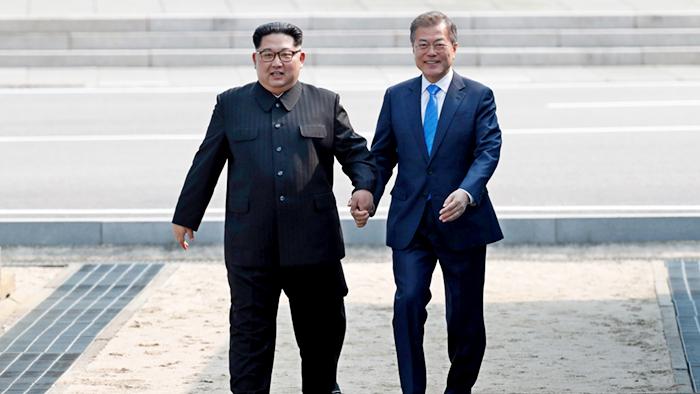 Шахматная доска Корейского полуострова