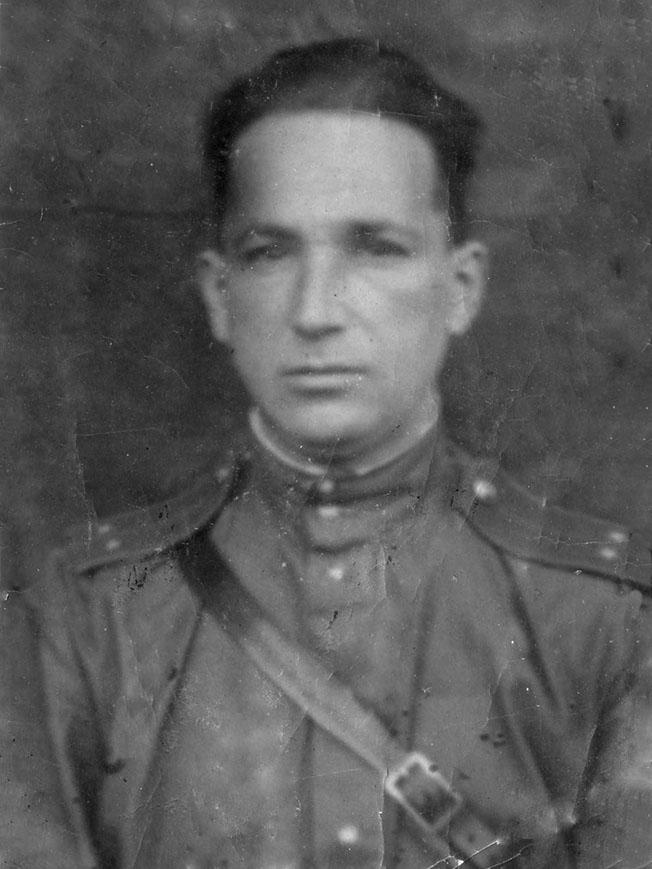 Лейтенант Александр Печерский