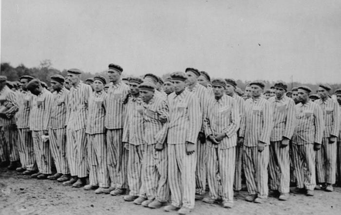 Заключенные лагеря Собибор